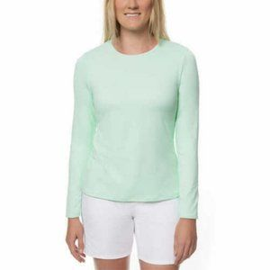 Womens Long Sleeve Rashguard UPF 50+ Stretch Shirt